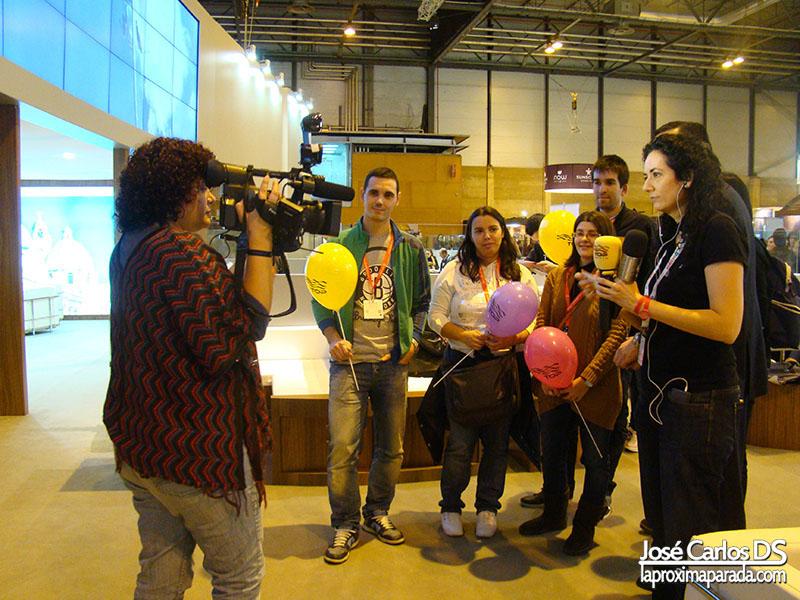 Fitur 2013 Entrevista en Stand de México