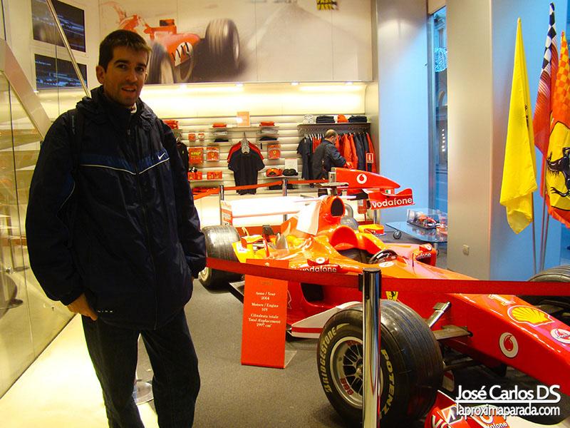 Formula 1 en Ferrari Store