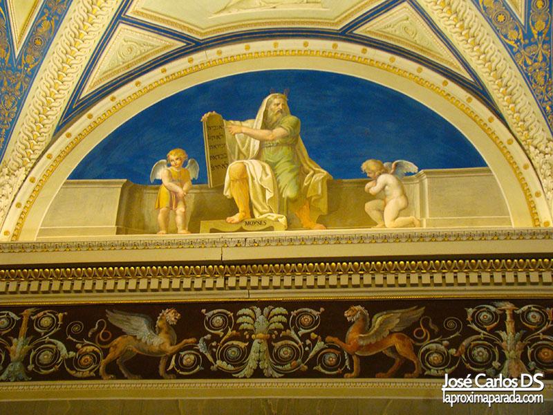 Frescos en Museos Vaticanos
