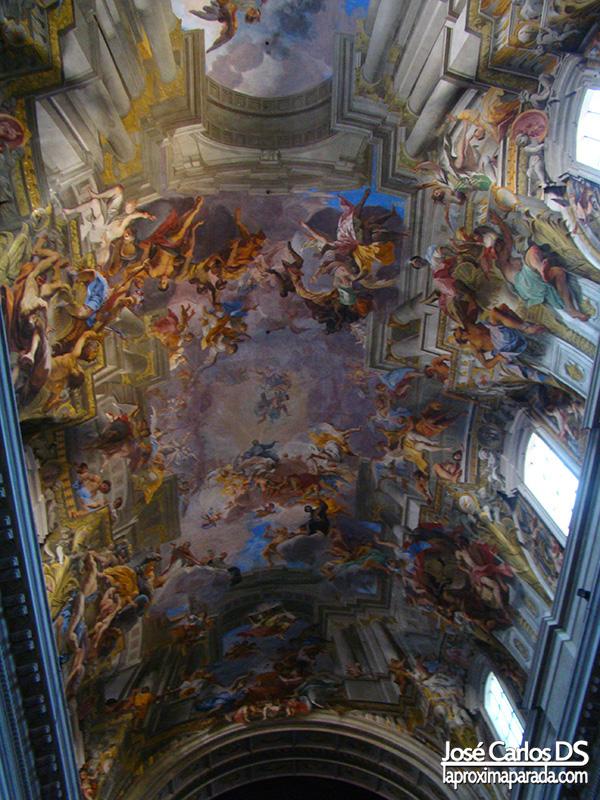 Iglesia San Ignacio, Roma