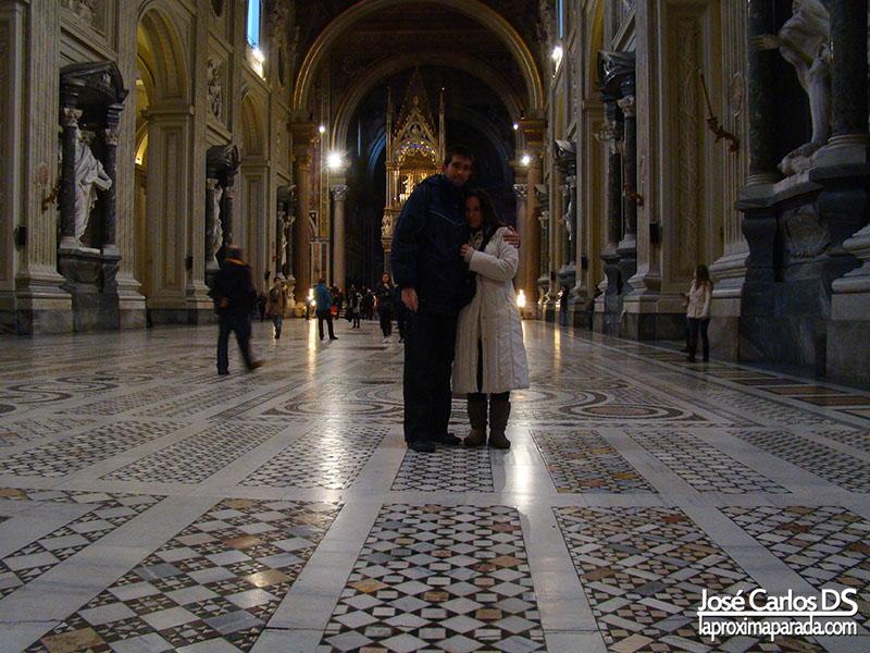 Interior Basílica de San Juan de Letrán, Roma