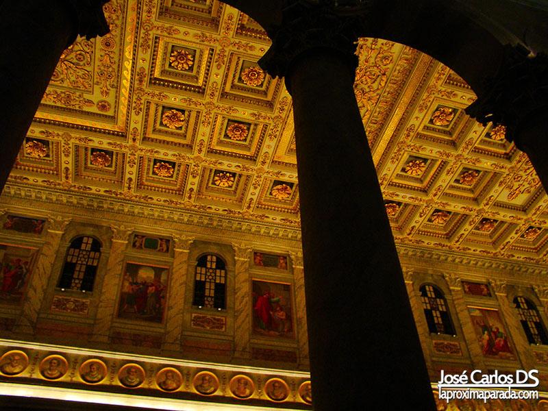 Interior Basílica de San Pablo Extramuros
