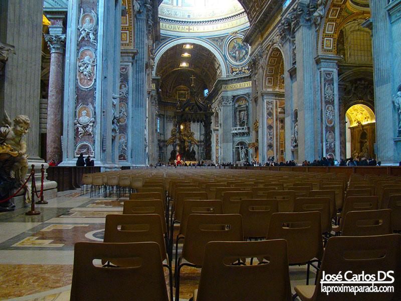 Interior Basílica de San Pedro