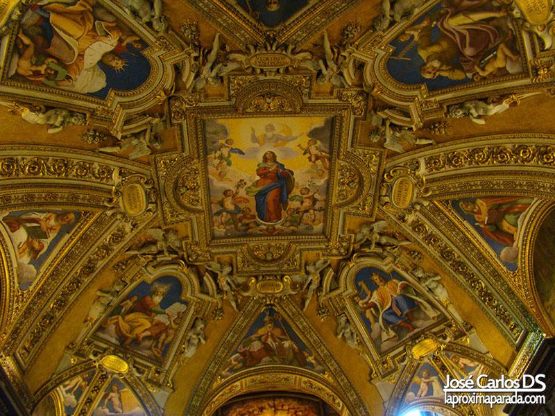 Interior Basílica de Santa María la Mayor, Roma