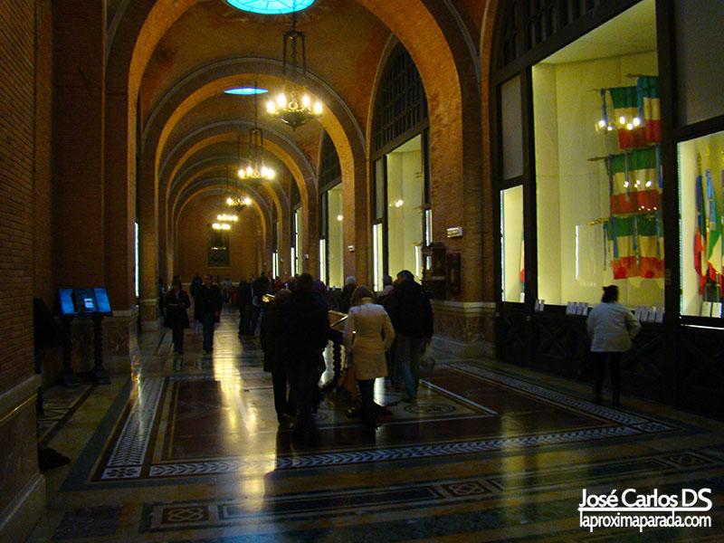 Interior Monumento a Víctor Manuel II