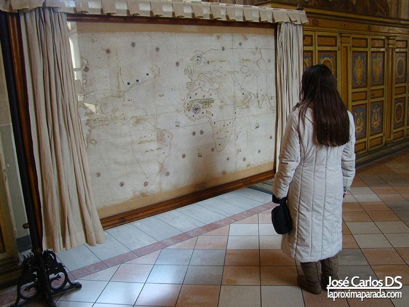 Mapa en Museos Vaticanos