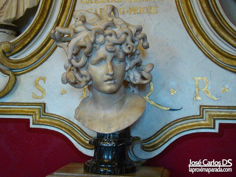 Medusa en Museos Capitolinos, Roma