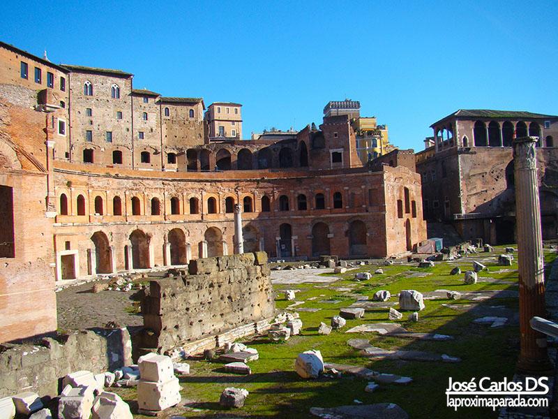 Mercado de Trajano, Roma