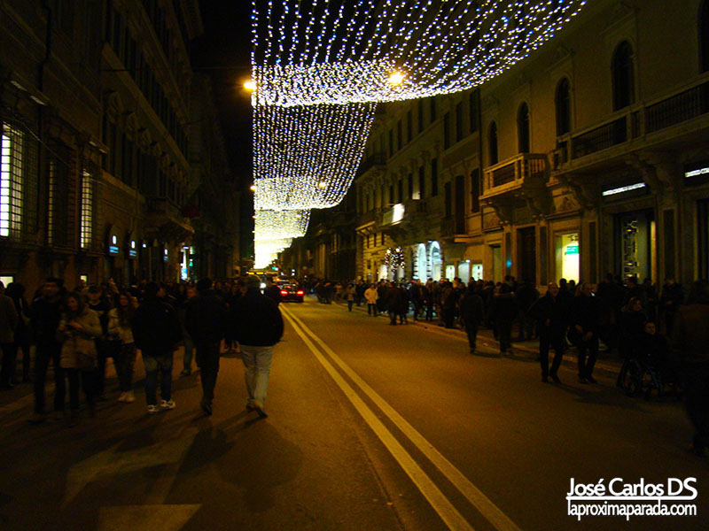 Navidad Via del Corso