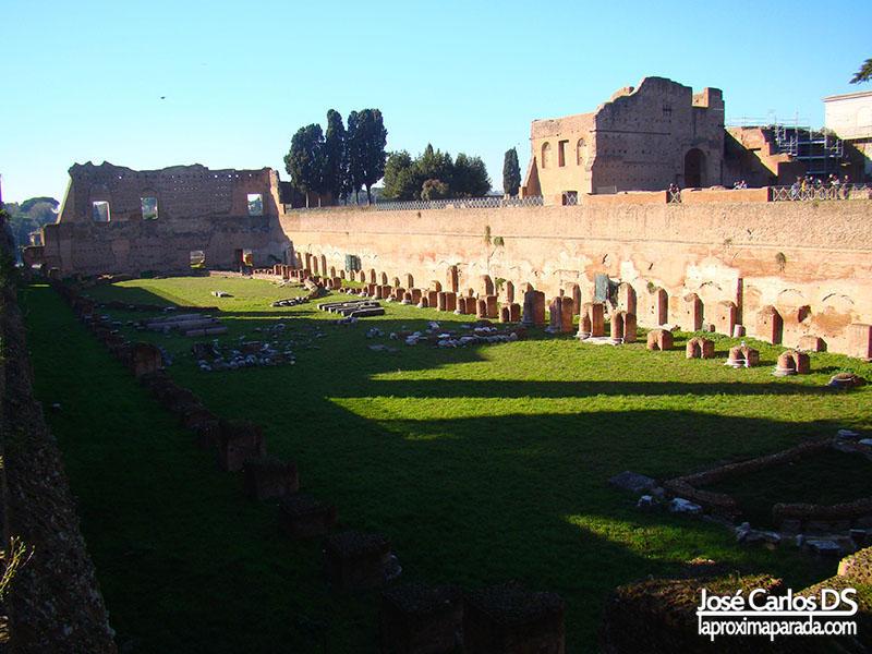 Palatino Hipódromo de Domiciano