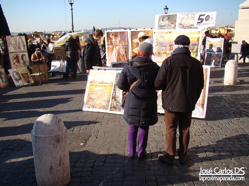 Pintores & Artistas en Plaza de España