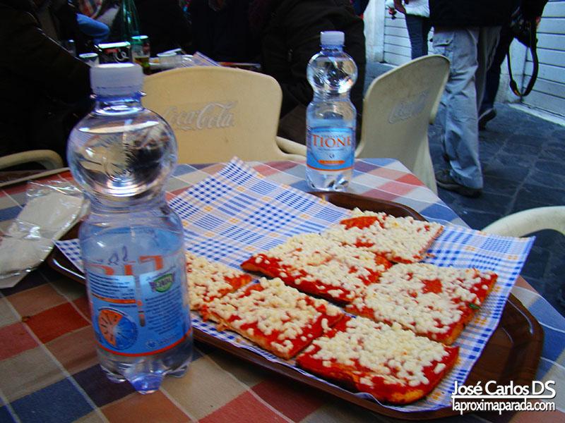 Pizza en Gueto Judio