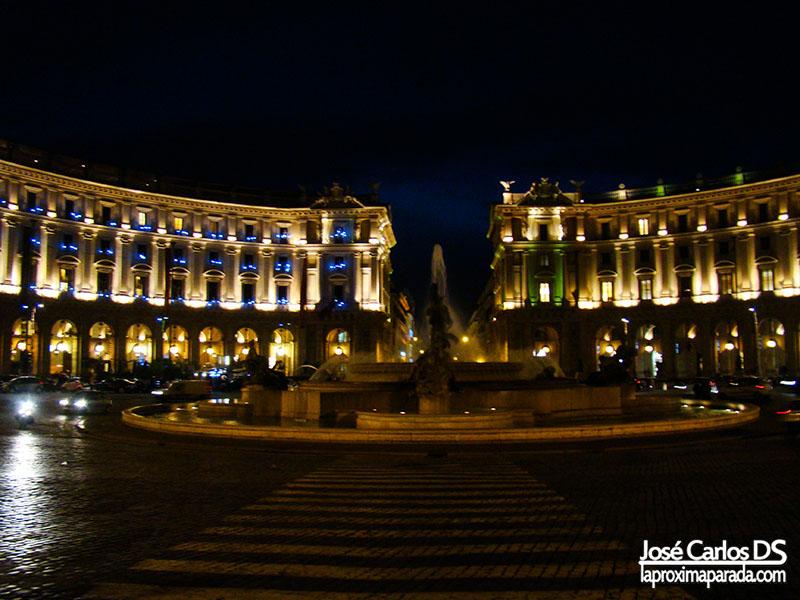 Plaza de la República, Roma
