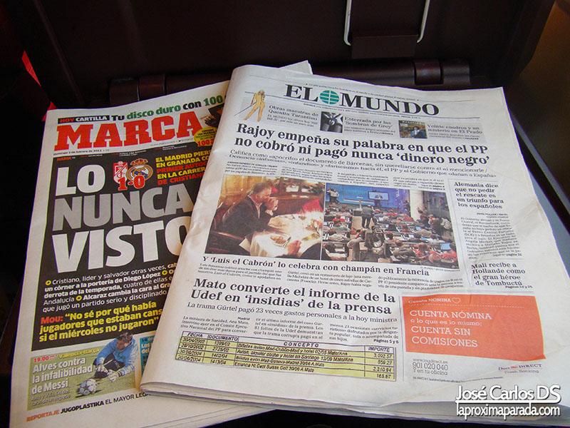 Prensa AVE Preferente-Club