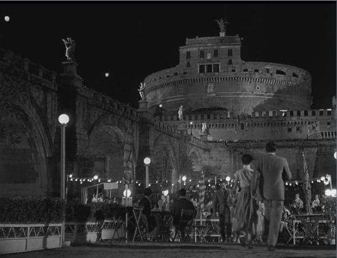Vacaciones en Roma (1953) - Castillo de Sant'Angelo