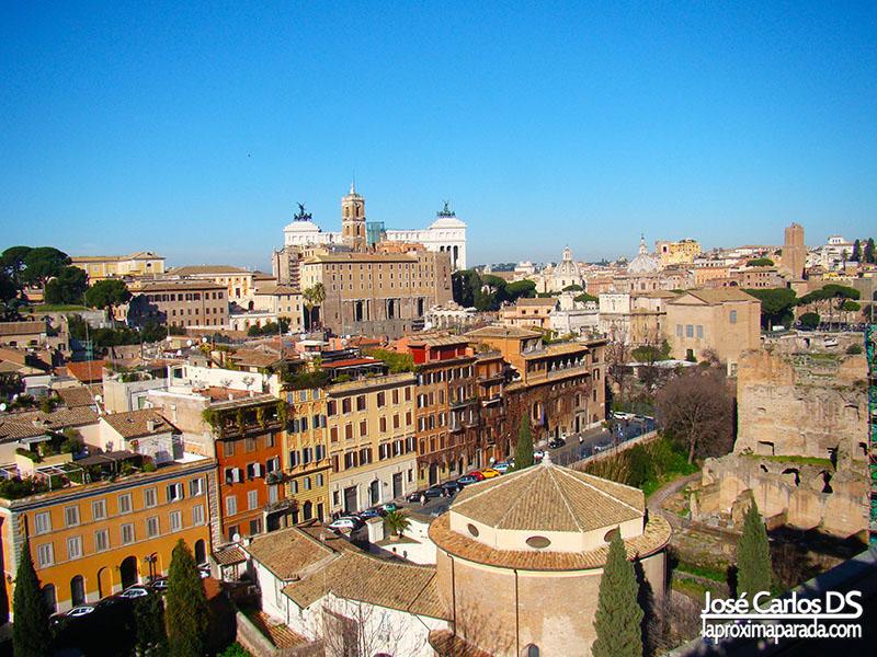 Vistas de Roma desde Palatino