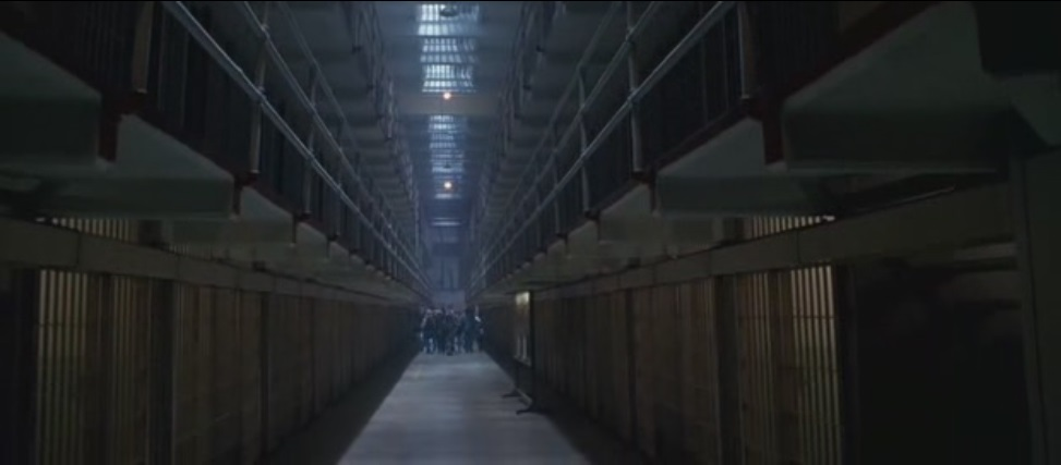 Celdas de Cárcel de Alcatraz en La Roca