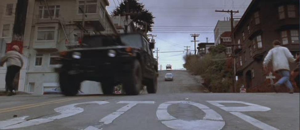 Persecución Calles de San Francisco en La Roca
