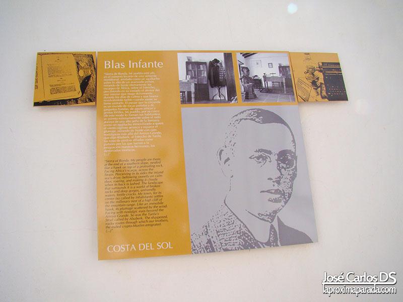 Blas Infante en Casares