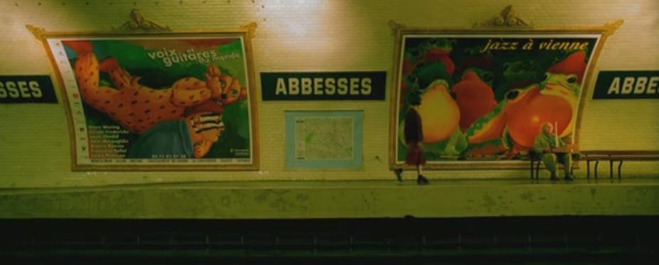 Metro en Amelie