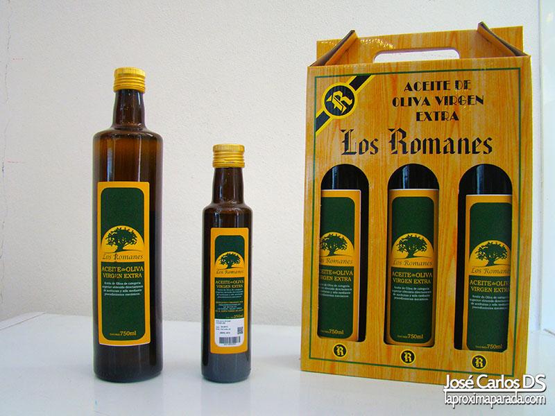 Aceite de Oliva Virgen Los Romanes