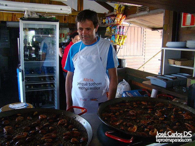 Almuerzo Arroz negro en Delta del Ebro #TBMCatSur