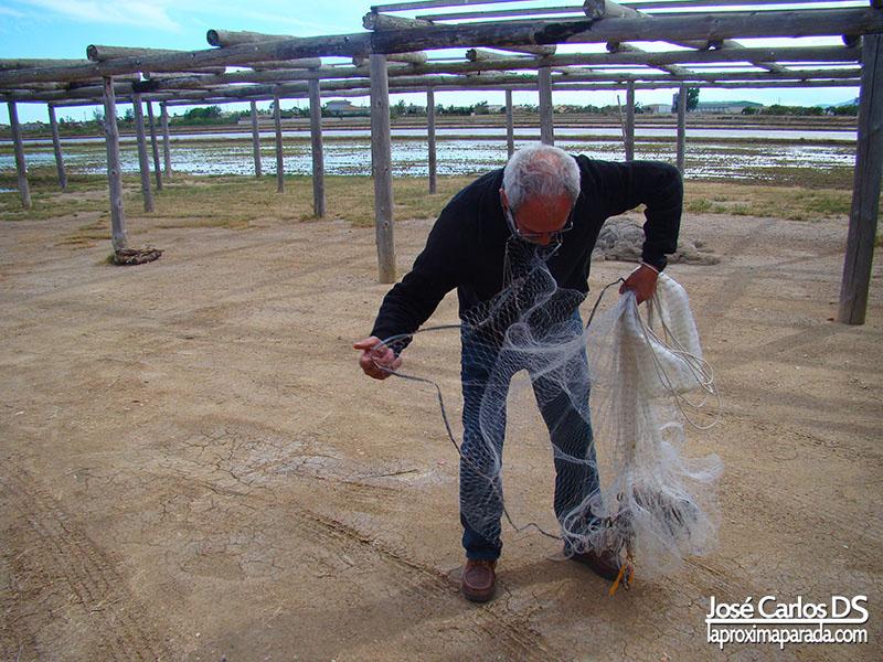 Demostración Pesca Tradicional en Delta del Ebro #TBMCatSur
