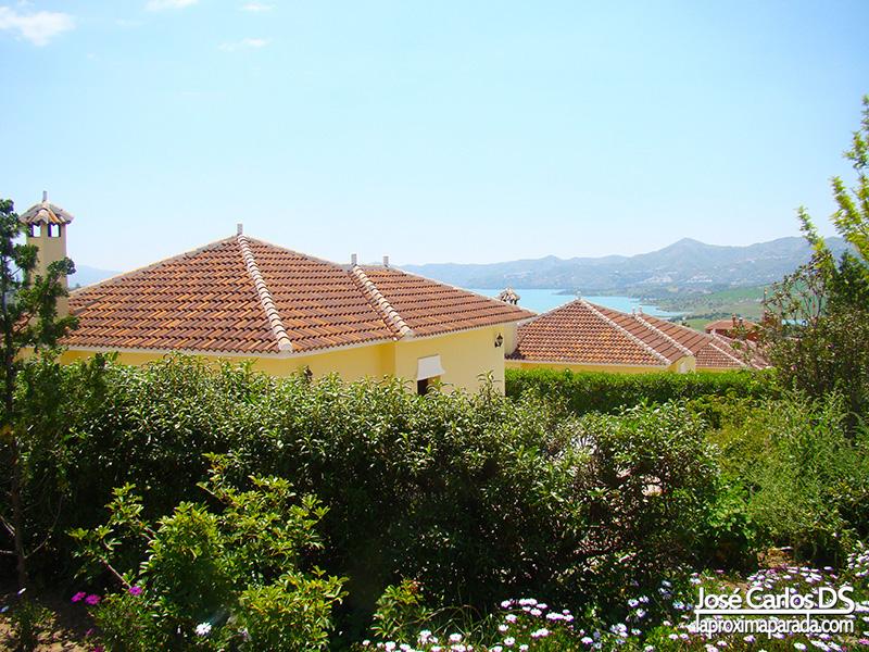 Panorámica Villas del Complejo Rural Las Mayoralas