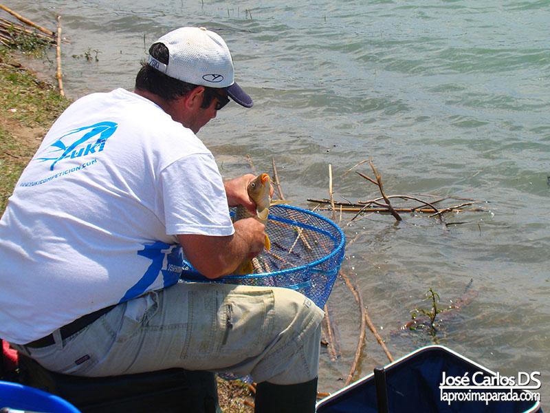 Pesca en Pantano de la Viñuela