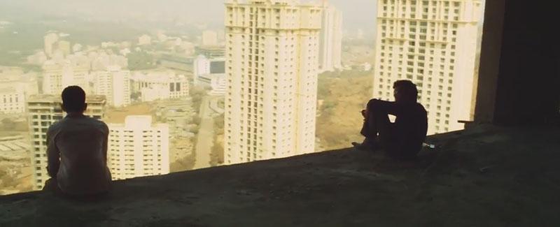 Rascacielos de Mumbai en Slumdog Millionaire