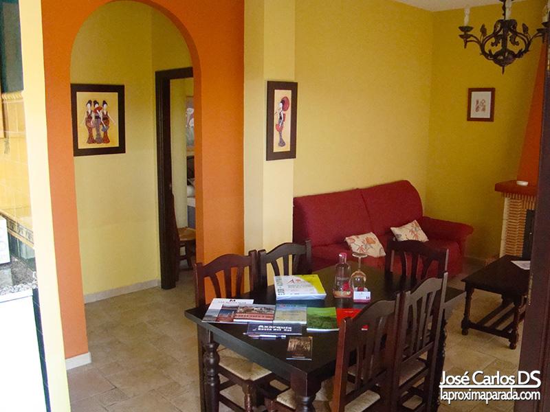 Salón-comedor  en Villa del Complejo Rural Las Mayoralas
