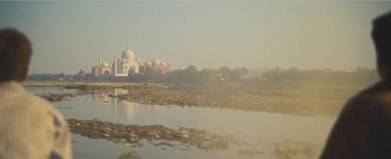Taj Mahal en Slumdog Millionaire