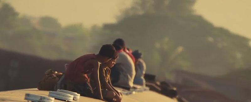 Trenes en Slumdog Millionaire