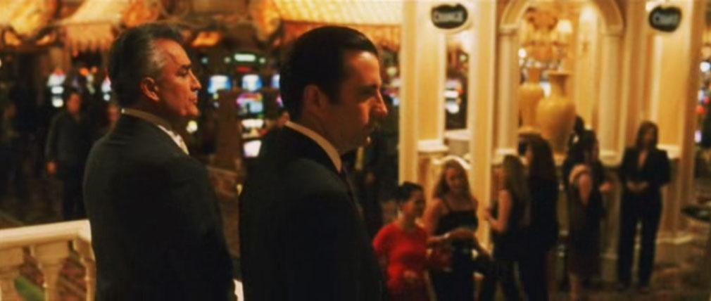 Andy Garcia en Hotel Bellagio
