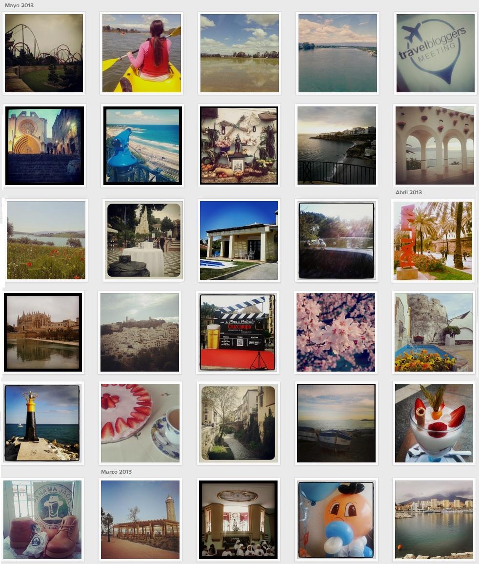 Primavera en Instagram