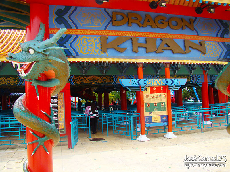 Atracción Dragon Khan, Port Aventura China