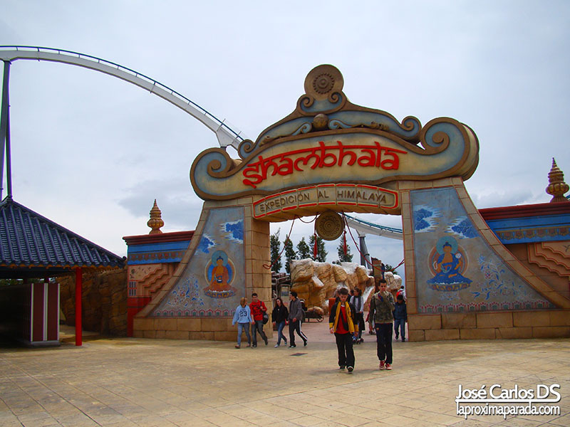 Atracción Shambhala, Port Aventura China