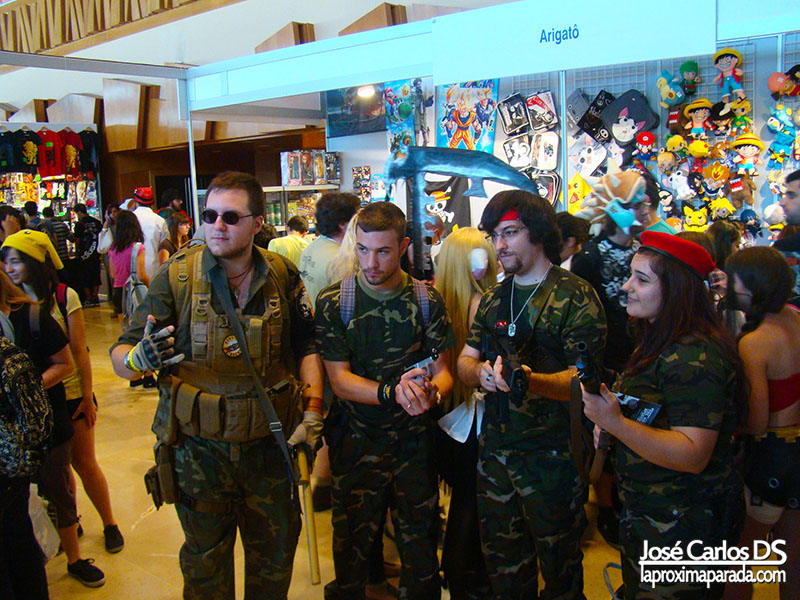 Cosplay en Animacomic Málaga