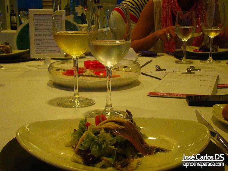 Ensalada de Boquerones en Vinagre Holiday Hydros Benalmádena