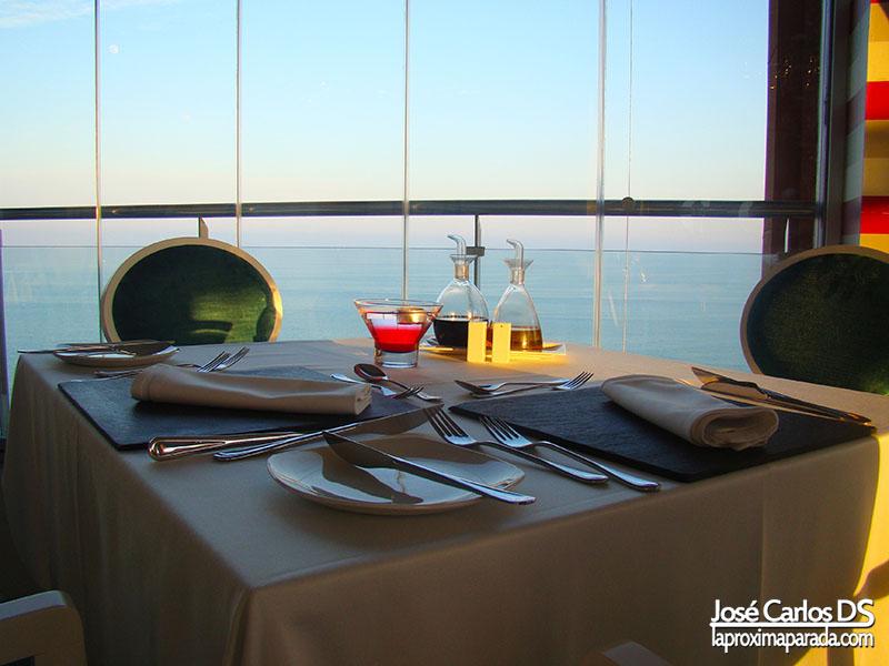 Mesas Restaurante Hotel Holiday Hydros Benalmádena
