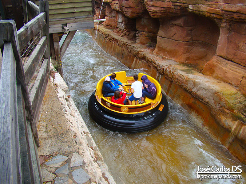Port Aventura Far West Grand Canyon Rapids