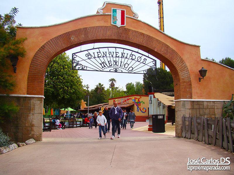 Port Aventura México Entrada