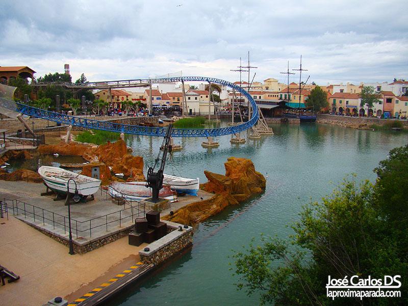 Port Aventura Mediterrània Lago en Furius Baco