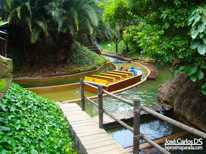 Atracción Tutuki Splash Port Aventura