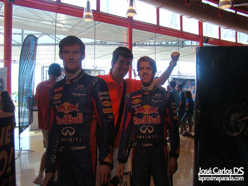 Patrocinador Red Bull en Gamepolis Málaga