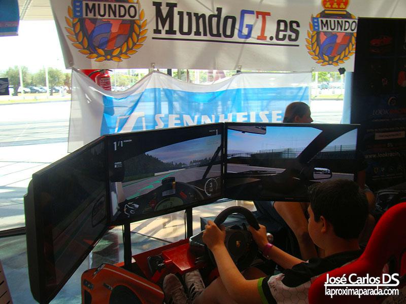 Simuladores MundoGT en Gamepolis Málaga