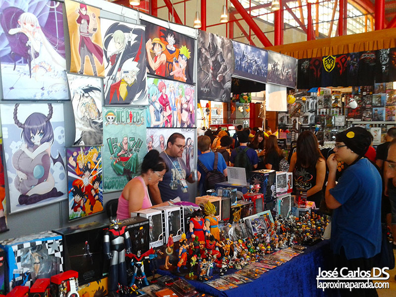 Tiendas Stands Animacomic