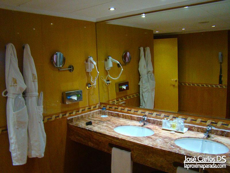 Baño Hotel 5 Estrellas Suite Junior Marina D´Or