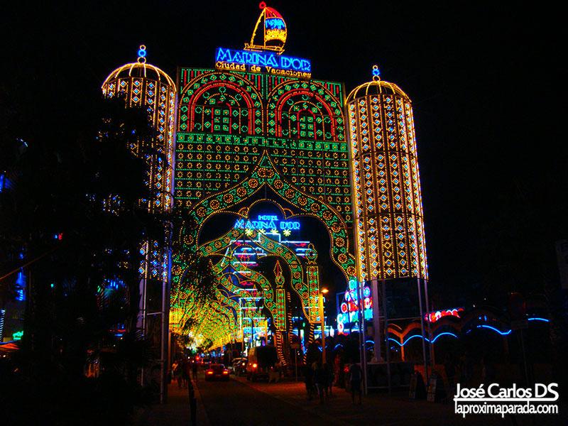 Iluminación Noche Marina d´Or