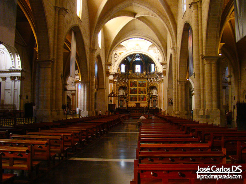 Interior Catedral de Valencia